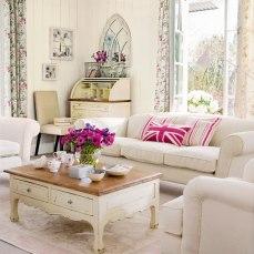 31 mẫu trang trí phòng khách theo phong cách vintage
